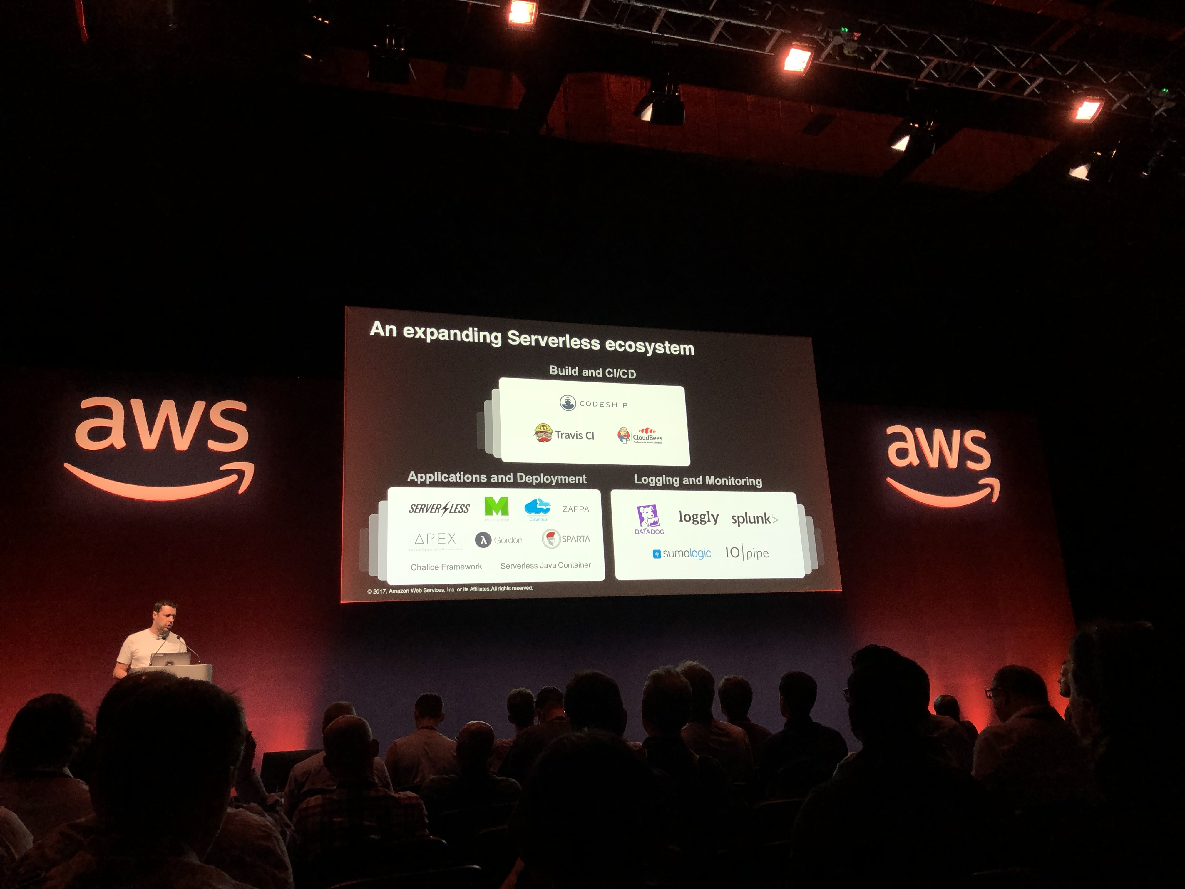 AWS stage